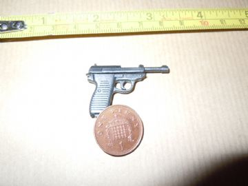 DID - WW II - FRENCH RESISTANCE - PIERRE - P38 Pistol